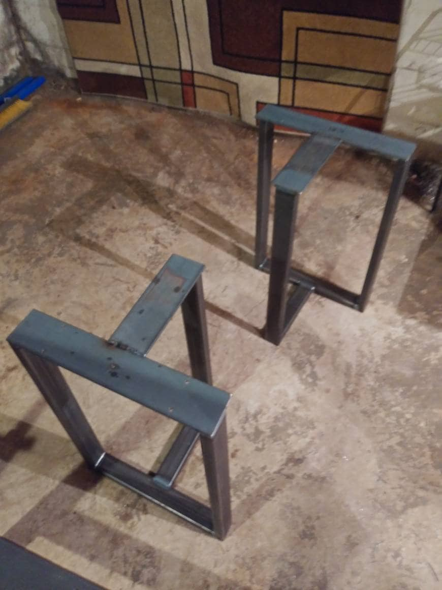 Coffee Table Base T Shaped Table Legs Industrial Table Legs