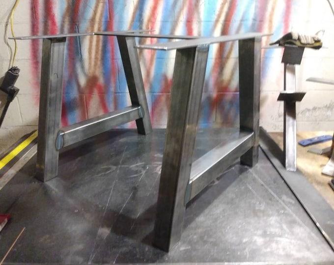 Industrial Coffee Table Metal Base