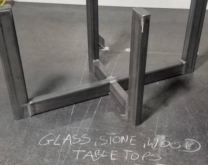 Steel Table Legs, Industrial Table Base