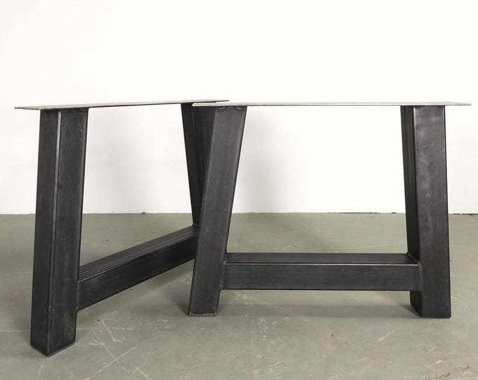 Farmhouse Metal Table Legs , Industrial, A-Shaped