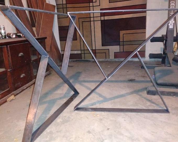 Super Industrial Metal Table Base