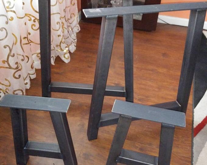 Metal table legs , SET of 4