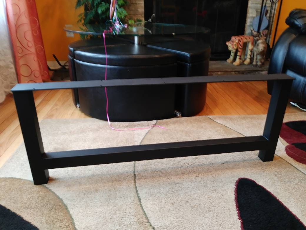 Coffee Table Legs Economy Style Heavy Duty H Frame Metal