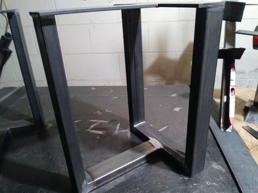 Miraculous Bench Metal Legs Coffee Table Metal Legs Custom Sizes Evergreenethics Interior Chair Design Evergreenethicsorg