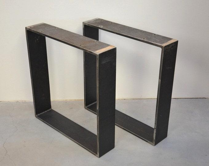 Wobble Metal Table Legs, Steel Table Base
