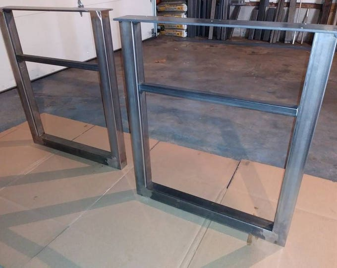 U-Shaped Metal Table Base