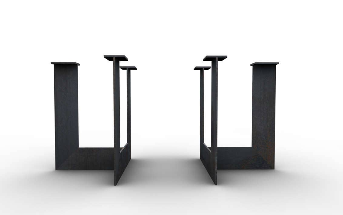 Metal Table LegsSteal Table LegsOffice Metal Table LegsConference - Metal conference table legs