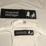 The Office Shirt Pair - Regional Manager/Assistant to the Regional Manager