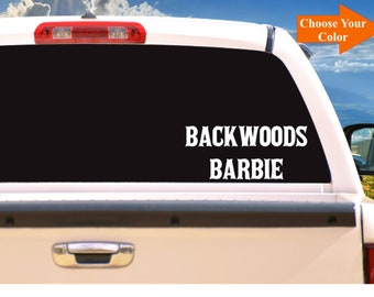Looks Like Barbie Smokes Like Marley Vinyl Decal Sticker Car Truck Window