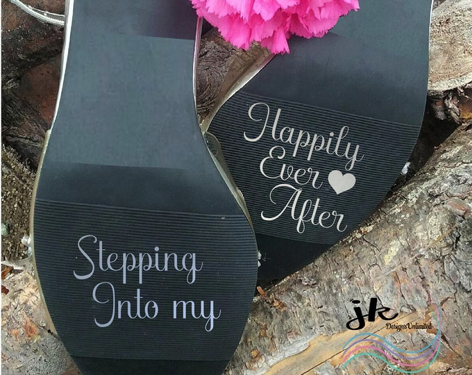 Happily Ever After Wedding Stickers
