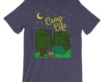 Under the Stars Camp Life Short-Sleeve Unisex T-Shirt