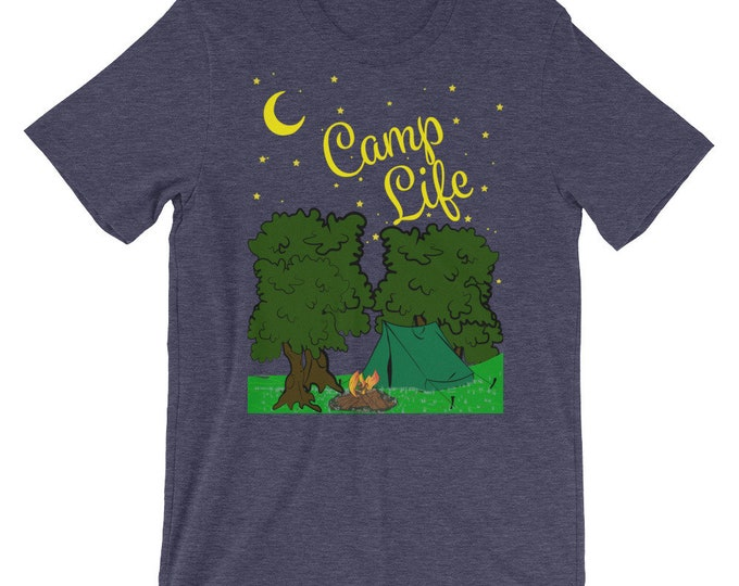 Under the Stars Camp Life Short-Sleeve Unisex T-Shirt