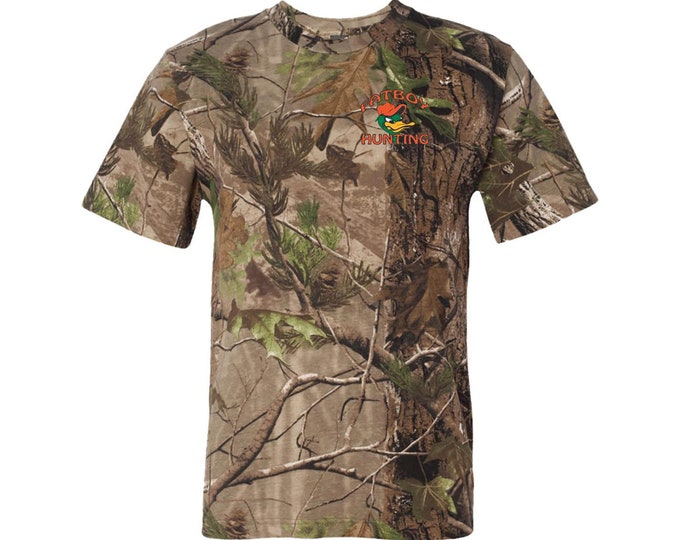 Fatboy Hunting™ Short Sleeve Camouflage T-shirt