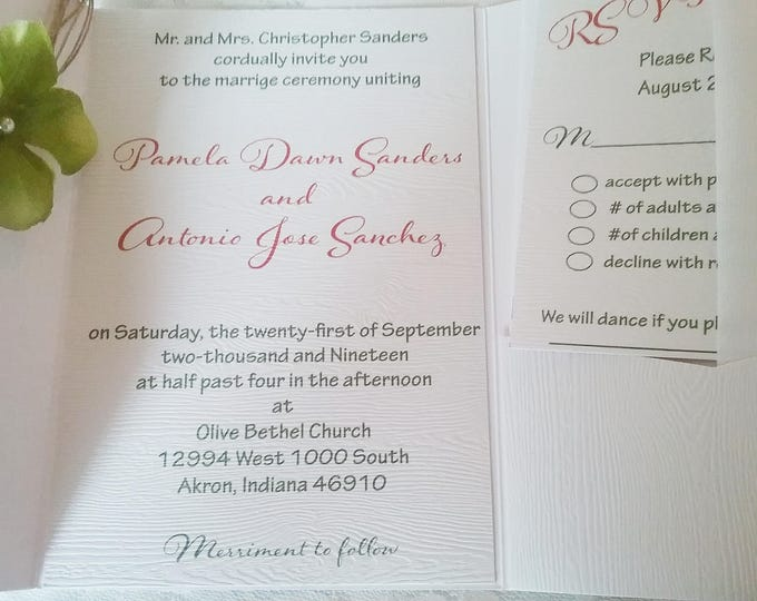 The Rustic Darling Invitation Suite