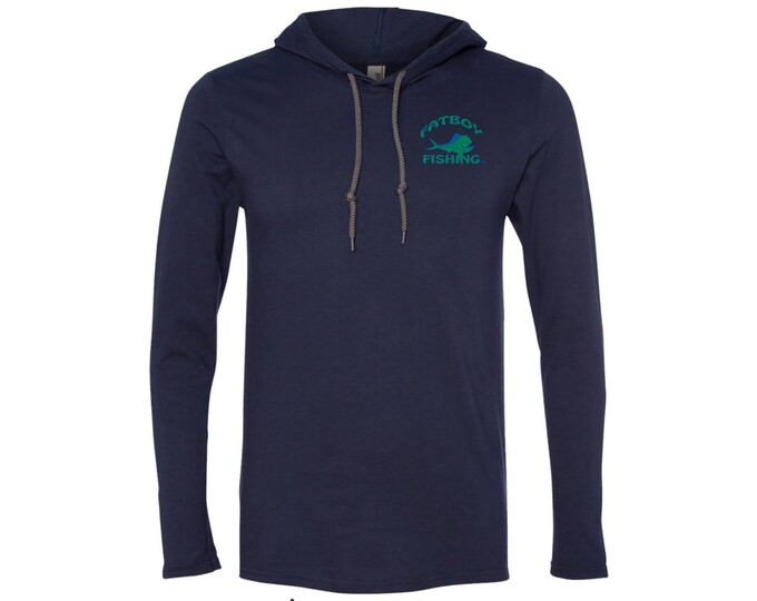 Fatboy Fishing™ Longsleeve T-shirt Hoodie