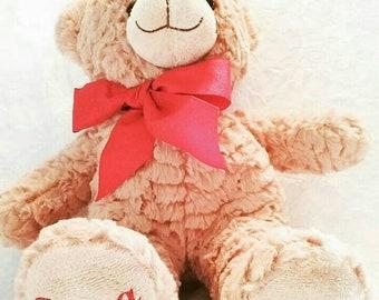 Personalized Bear- Tan