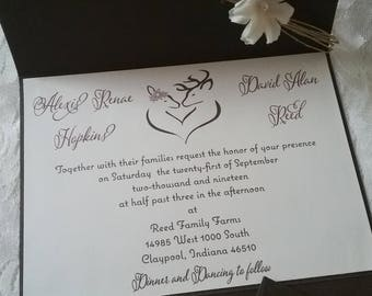 The Rustic Romance Invitation Suite