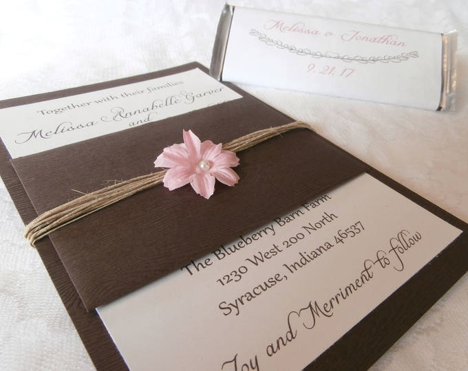 The Rustic Lady Love Invitation Suite