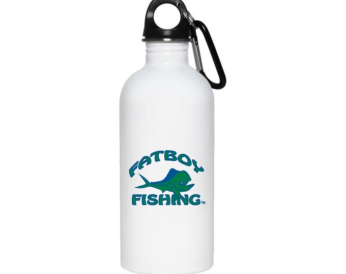 Fatboy Fishing™ 20oz Stainless Steel Water Bottle
