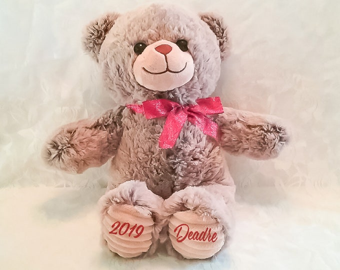 Personalized Bear- Brown
