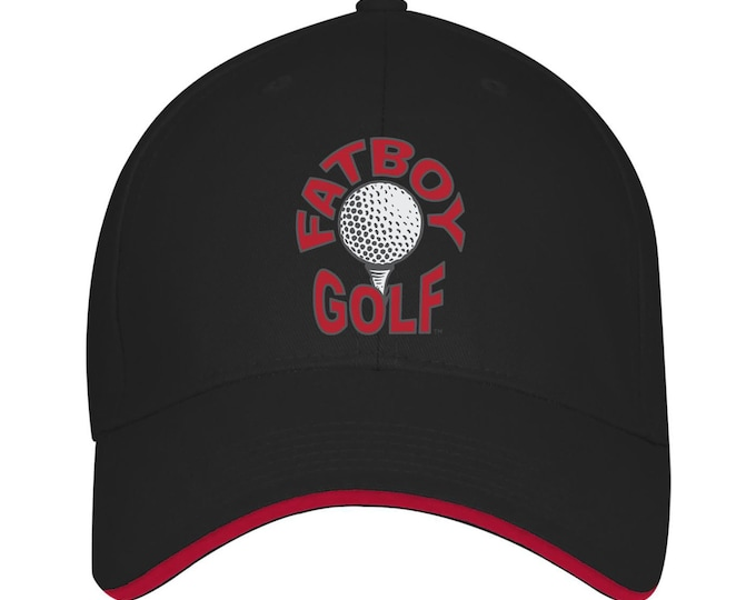 Fatboy Golf™ USA made Structured Twill Cap