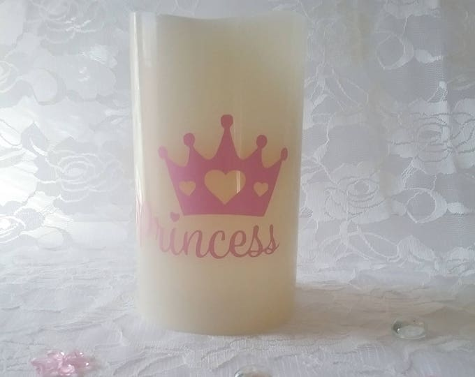 Flameless Decorative Candle- Princess
