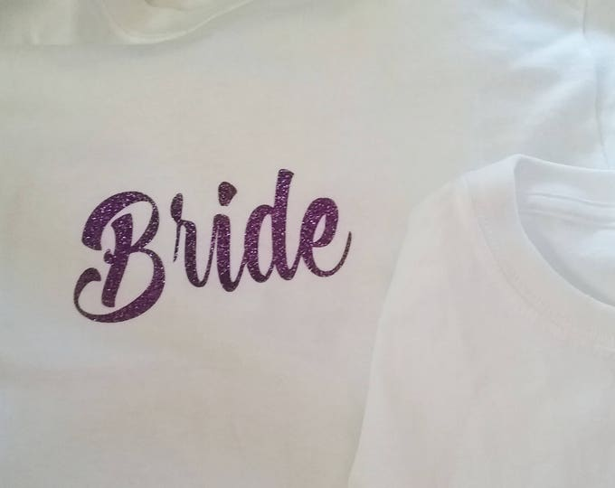 Bride T-Shirt Heat Transfer Decal
