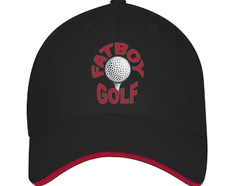 Fatboy Golf™ USA made Structured Twill Cap