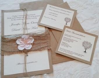Custom Wedding Invitations Deposit Only