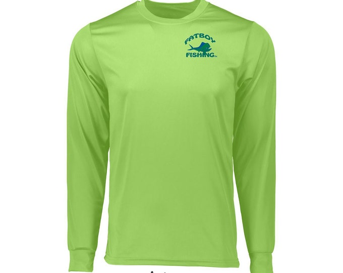 Fatboy Fishing™ Longsleeve Moisture Wicking T-shirt