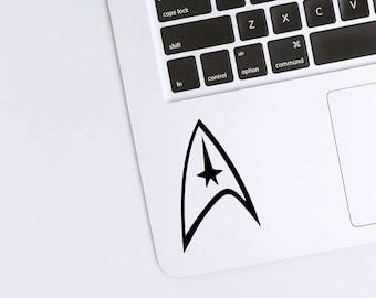 Starfleet Command Permanent Vinyl Decal {Decal ONLY} | Coffee Mug Decal, Tumbler Decal, Laptop Decal, Car Decal, Trekkie Decal, Star Trek