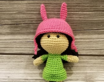 Louise Doll Wearing Bunny Hat 3239410f131
