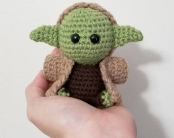 Galaxy Master Pocket Poppet - SciFi Collectible - Gift for Geeks - Green Alien Doll - Comic Con - Made To Order