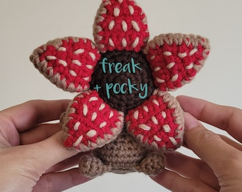 Baby Demogorgon Doll -  Demogorgon Pocket Poppet - Pop Culture Collectibles - Comic Con - Dungeons and Dragons - Stranger Things