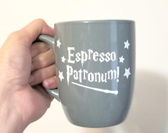 Espresso Patronum Permanent Vinyl Decal {Decal ONLY} | Coffee Lover, Coffee Mug Decal, Tumbler Decal, Mug Decal, Cup Decal, Laptop Decal