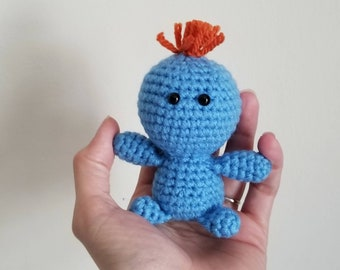 Meeseeks Doll - Look-At-Me Pocket Poppet - Pop Culture Collectibles - Gift for Geeks - Geeky Birthday Gift - Comic Con - Ready to Ship