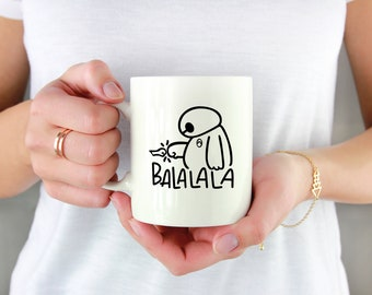 Ba La La La Permanent Vinyl Decal {Decal ONLY} | Coffee Lover, Coffee Mug Decal, Tumbler Decal, Mug Decal, Cup Decal, Laptop Decal