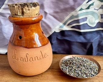 Traditional lavender pomander