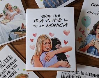 Friendship Card Going Away Card Miss You Card Farewell Card Moving Card Leaving Card Good Bye Card Good Luck Card Rachel Monica Card