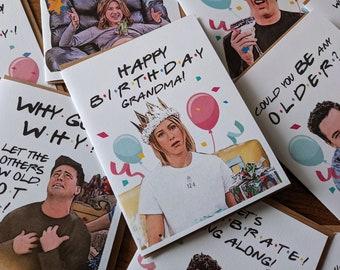 Funny 30th Birthday Card Rachel Card Funny Birthday Card Happy Birthday Grandma