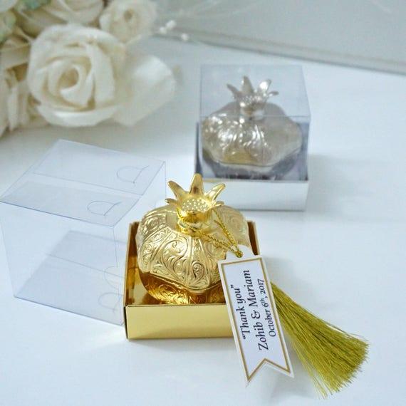 Hochzeitsgeschenke Fur Gaste Engagement Zugunsten Mehndi Etsy