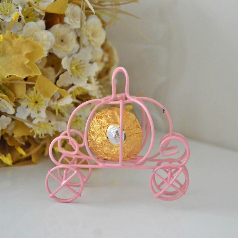 Cinderella pumpkin carriage Wedding favor box idea Pumpkin  791591866