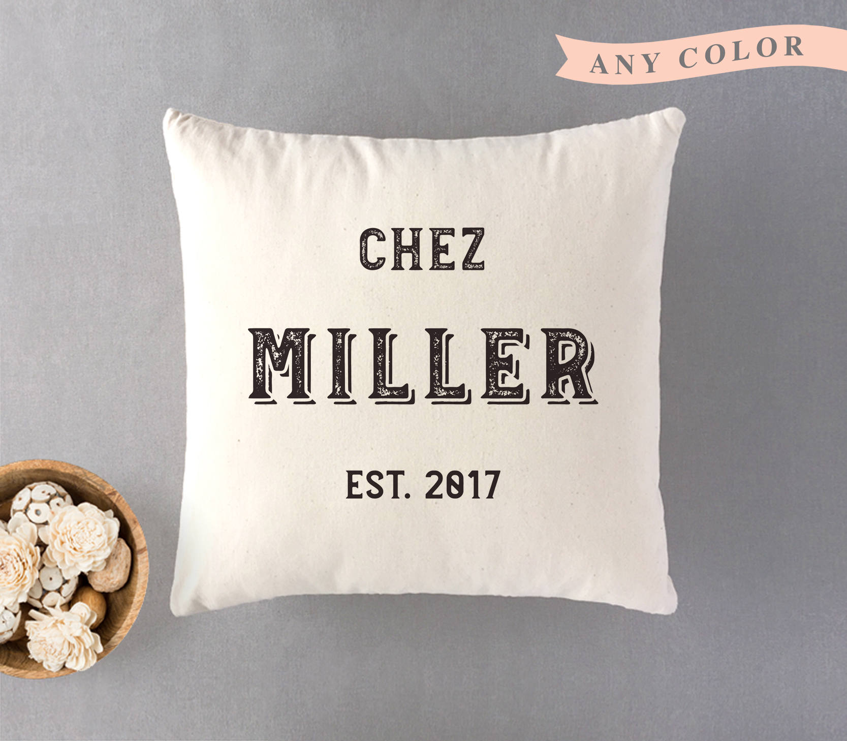 Wedding Gifts For Relatives: Personalized Family Pillow Wedding Gift For Couple Wedding