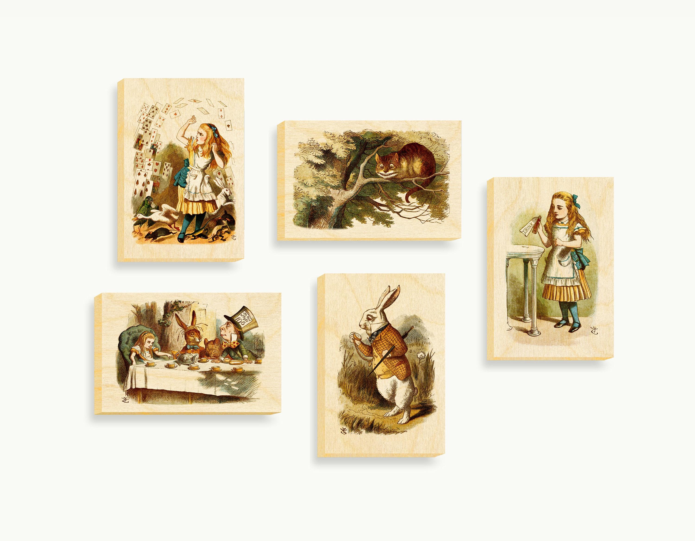 Alice in Wonderland Wall ArtAlice in Wonderland | Etsy