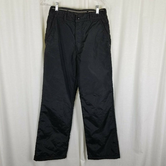 Labonville Black Thinsulate Insulated Work Pants M