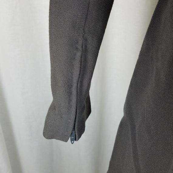 Pauline Trigere Bonwitt Teller Gray Worsted Wool … - image 6
