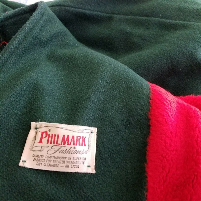 Vintage Philmark Fashion Winter Wool Peacoat Dress Coat Girls 3T Traditional German Austrian Clothing Green /& Red Nordic Embroidery