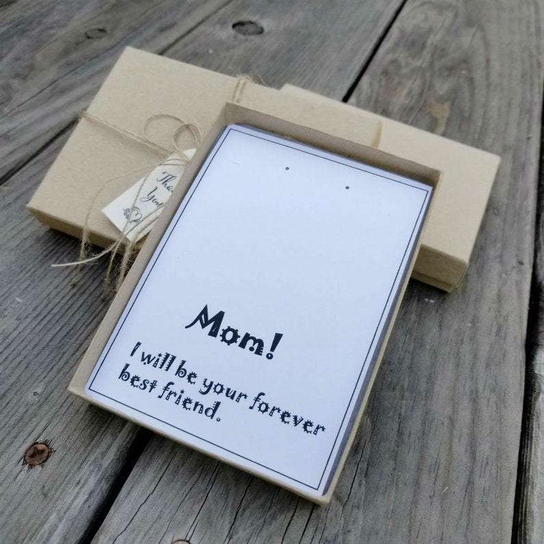 #B1 Mom Earring /& Necklace gift box Jewelry Gift Box for mom Gift Box for mom