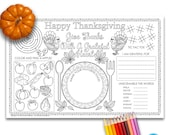 thanksgiving placemat for kids thanksgiving coloring placemat thanksgiving coloring sheet coloring placemat thanksgiving placemats printable