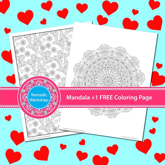 Free Valentines Day Coloring Pages for Adults | Valentines ... | 570x570